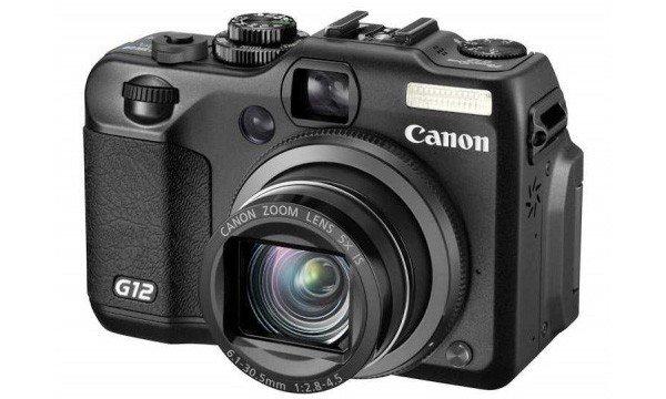 Canon Powershot G12 SD Card