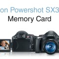 Canon Powershot SX30 IS SD Card