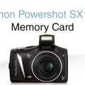 Canon SX130 IS SD Card