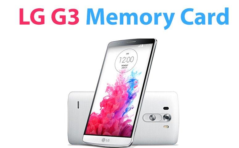 LG G3 SD Card