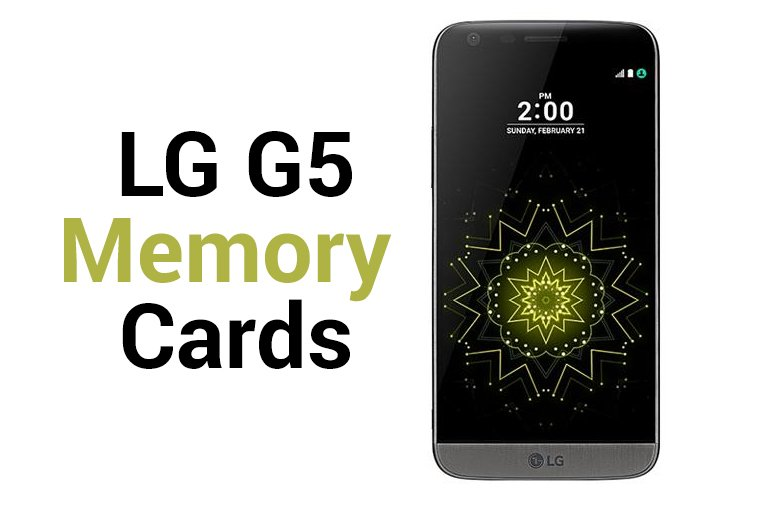 LG G5 Sd Cards