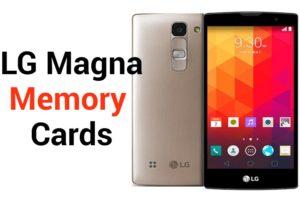 LG Magna Memory Card