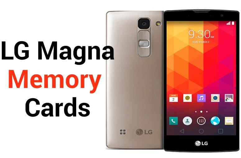 LG Magna SD Card