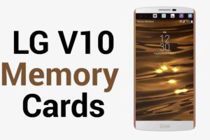 LG V10 Memory Card
