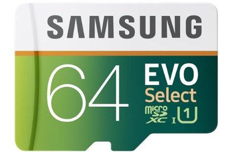 Samsung 64GB Evo Select Micro SDXC
