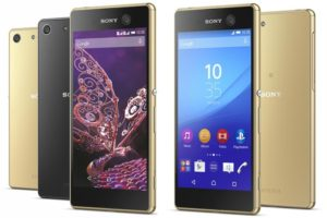 Sony Xperia M5 Memory Card
