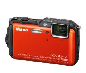 Nikon Coolpix AW120 Memory Card