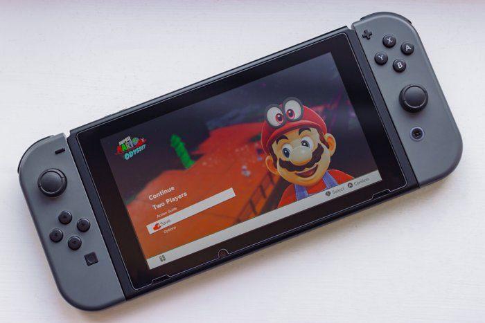 Nintendo Switch Internal Storage