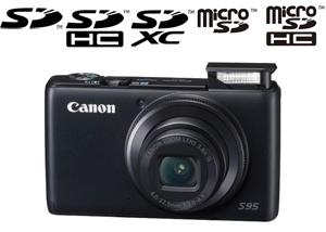 Canon S95 Memory Card